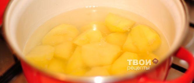"""""""Рулет из картофеля и селедки"""""""