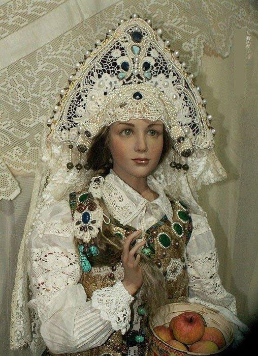 Авторские куклы Алены Абрамовой