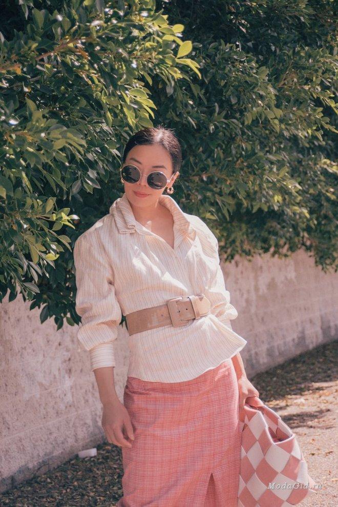 Стильная китаянка Hallie Swanson из Лос-Анджелеса: летние модные образы 2018