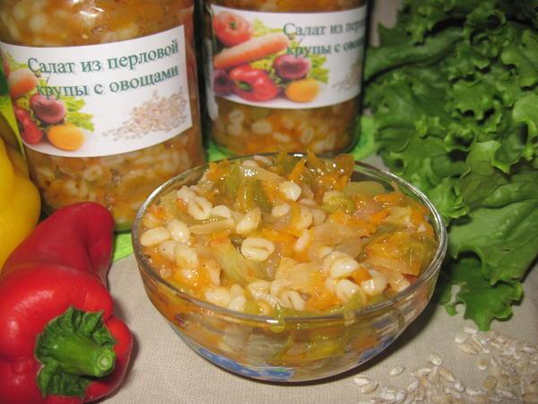 Пошаговые рецепты салатов на зиму из овощей с