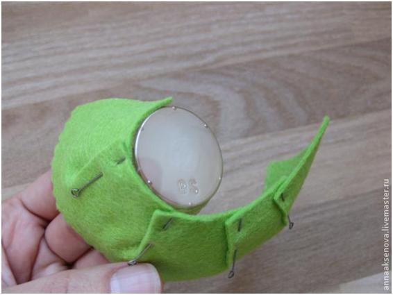 Нарядные фетровые подставки для яиц! (Мастер-класс)