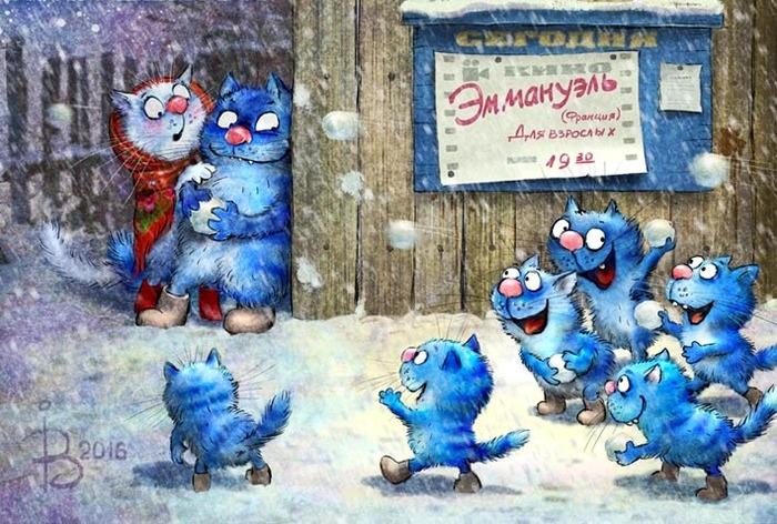 Мурлыки от российской художницы