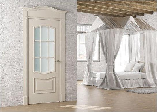 Межкомнатные белые двери в интерьере