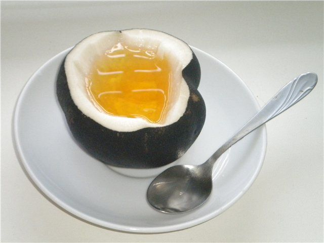 Черная редька с медом от кашля