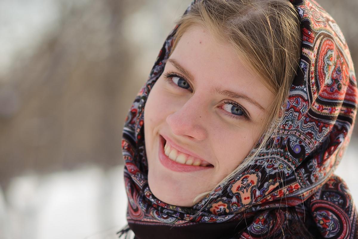 Православная голубоглазая красивая девушка смотреть фото