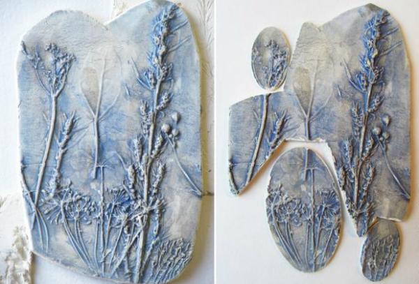 Украшения из глины