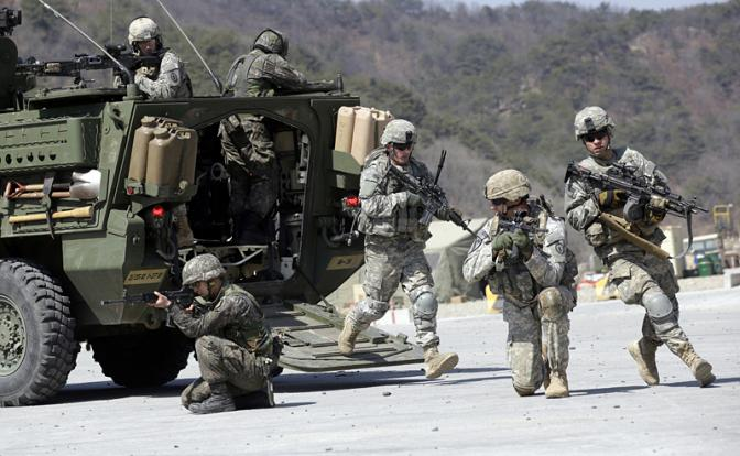Армию США готовят к  войне с Россией и Китаем в 2019 году