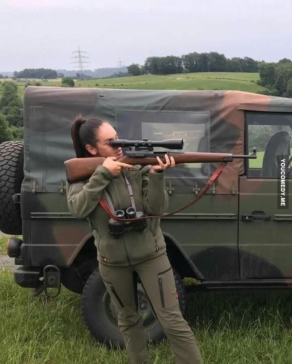 Одноразовый снайпер.
