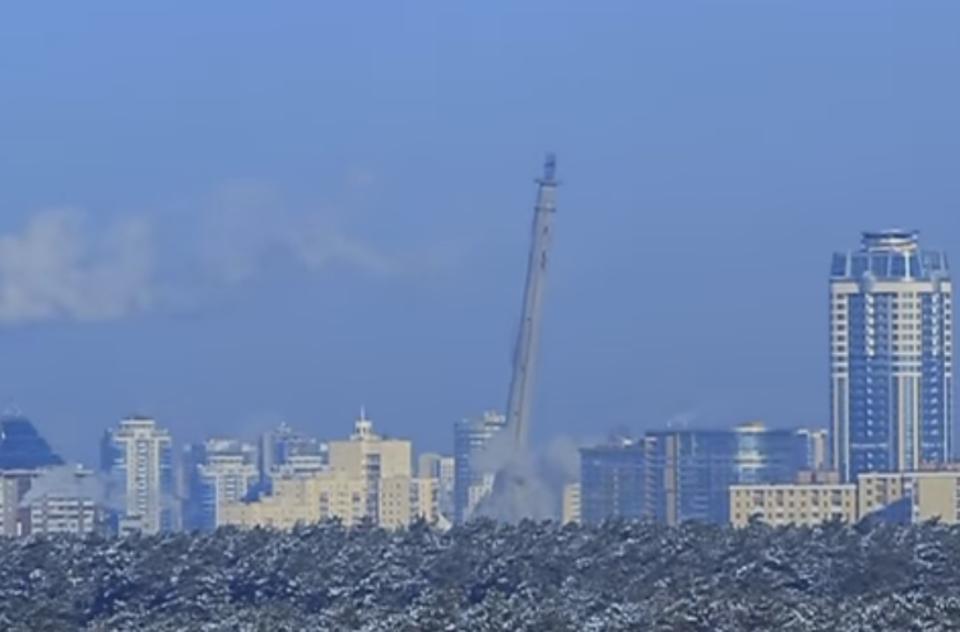 В Екатеринбурге взорвали тел…