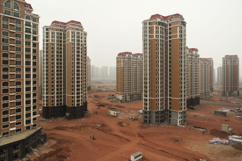 1. Кангбаши, Китай город-призрак, застройка, китай