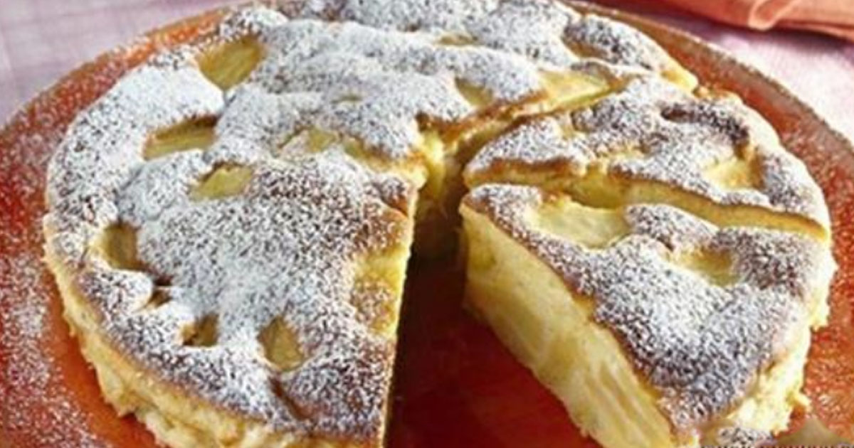 Итальянский пирог с яблоками затмил нашу шарлотку