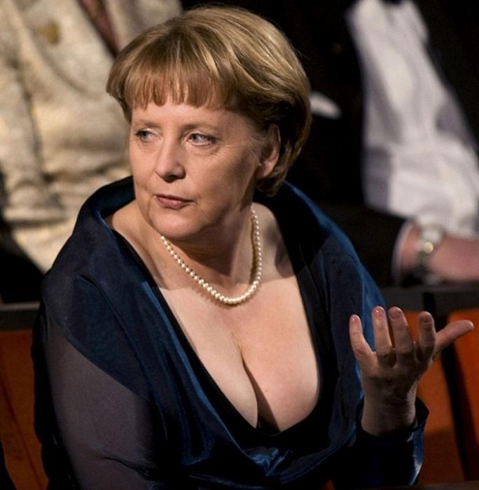 Ангела Меркель удивила весь мир, продемонстрировав свои весомые достоинства