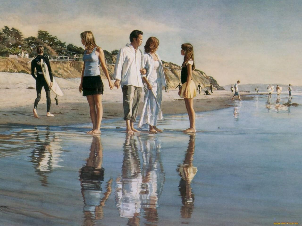 Эмоциональный реализм Стива Хенкса Стив Хенкс, акварель, картины