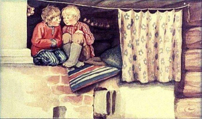 На чём спали русские крестьяне до появления кроватей.