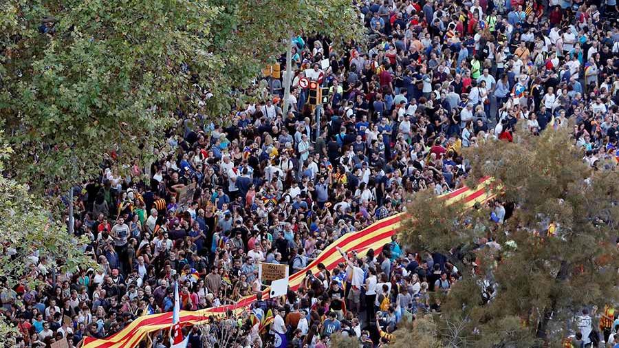 Власти Каталонии объявят о независимости автономии в ближайшие дни