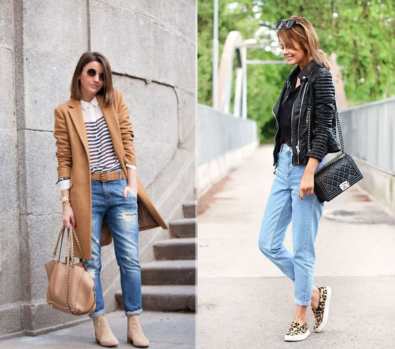 Как стильно носить укороченные джинсы в 2019 году