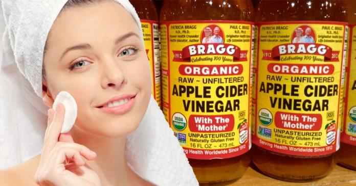 4 причины, по которым вы должны быть умывать лицо яблочным уксусом