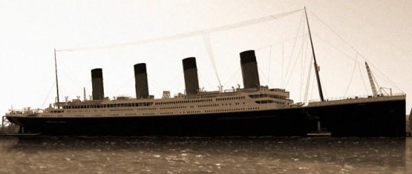 Мужчины на Титанике перед смертью