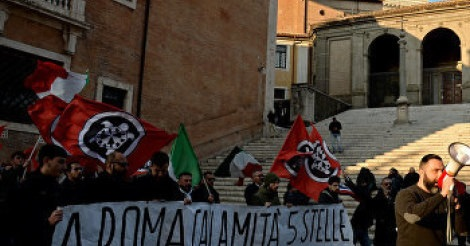 «Фашисты третьего тысячелетия» объединяются: украинские нацисты в Италии