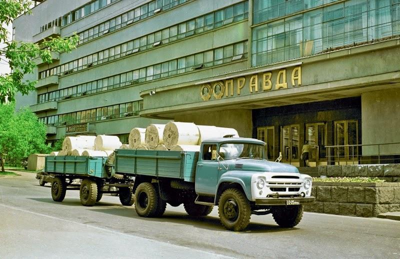 ЗиЛ-130: советский грузовик с американскими корнями