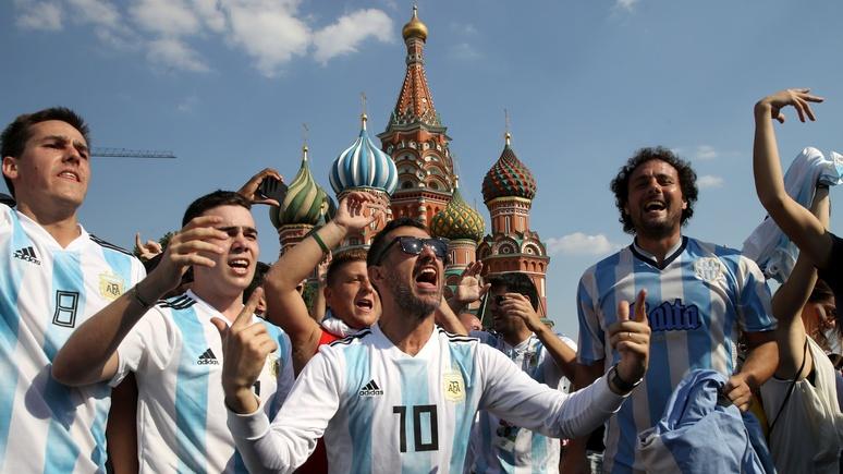 RP: аргентинским болельщикам не простили «возмутительные проделки» на ЧМ-2018
