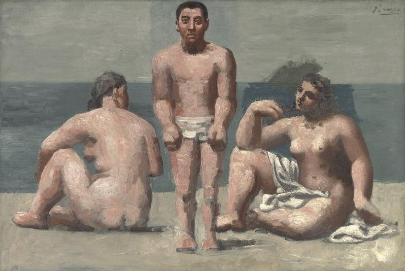 Пабло Пикассо. Купальщик и купальщицы. 1921 год