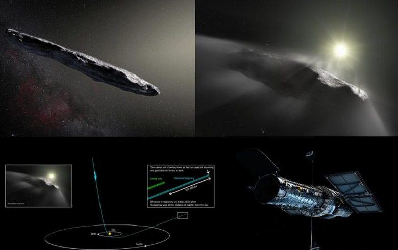 Астероид Oumuamua продолжает…