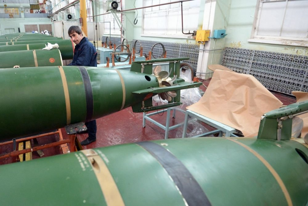 В России начали разработку мини-торпед