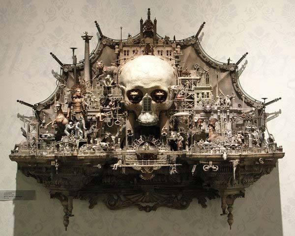 Мрачное искусство Криса Кукси