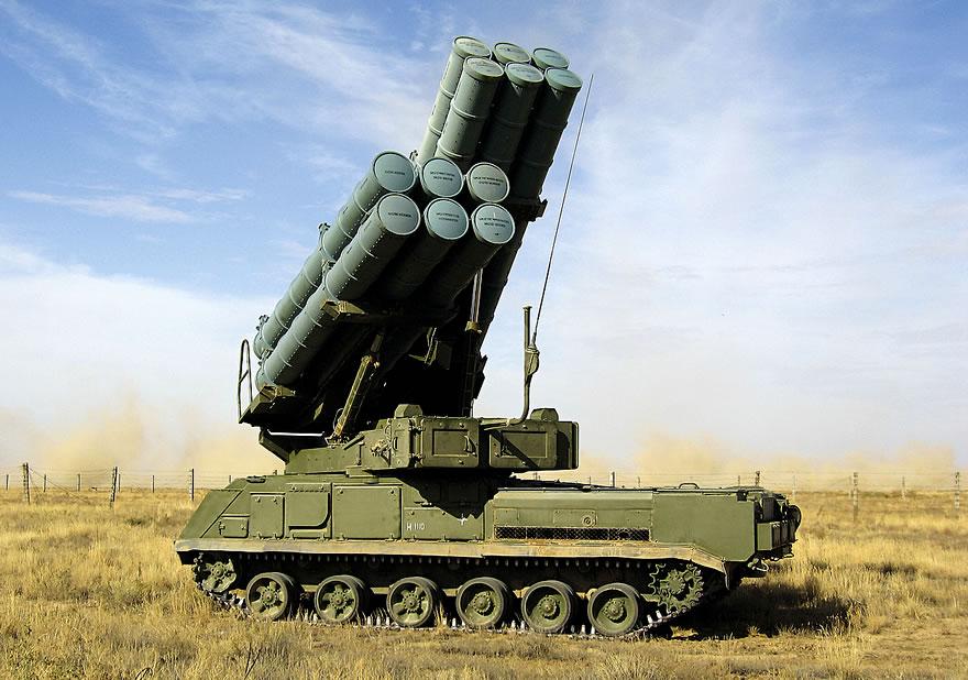 Российские войска получили новейшие комплексы ЗРК «Бук-М3»