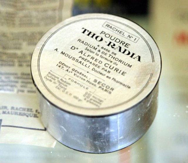 Радиоактивные вещи из прошлого, которые использовались в быту