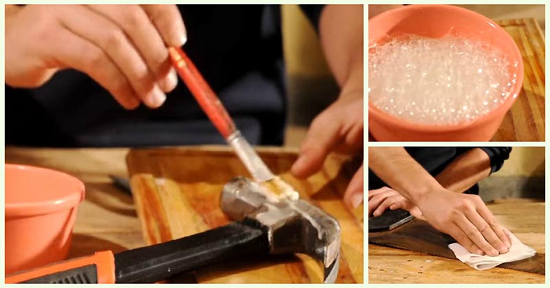 Как избавиться от ржавчины без химии: способ, проверенный годами