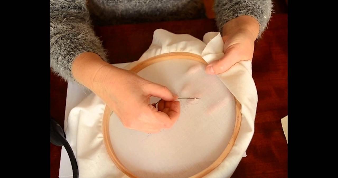 Как закрепить нить без узелк…
