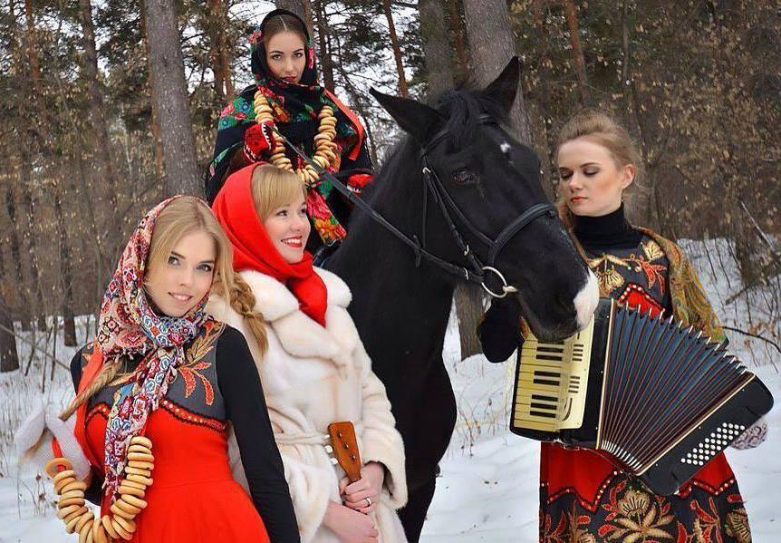 Новый Год по русски.