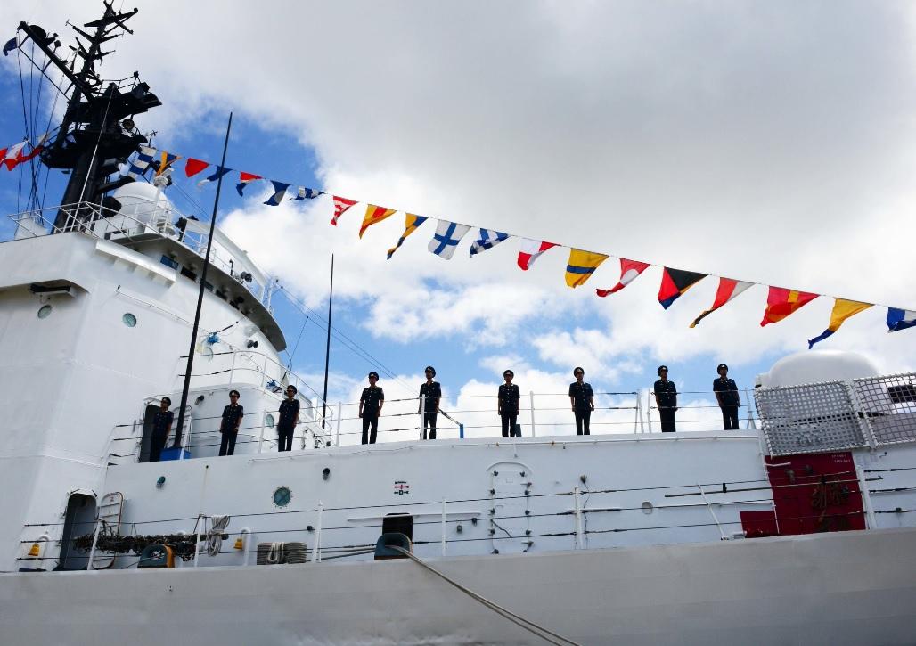 Вьетнам получил бывший американский патрульный корабль Morgenthau
