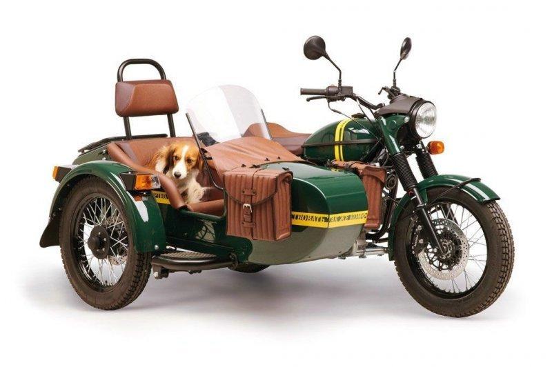 Кофемашина, бутылка водки, дрон... Самые необычные версии мотоциклов «Урал»