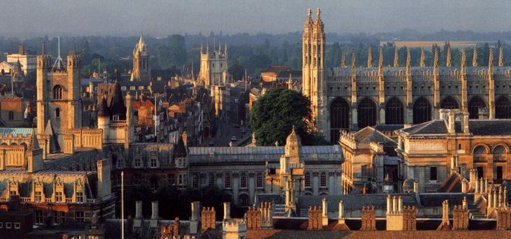 Потрясающая архитектура Кембриджа