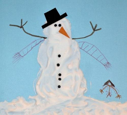 рисунки на зимнюю тему