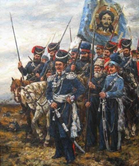 """""""Вихрь атаман"""" - генерал Платов."""