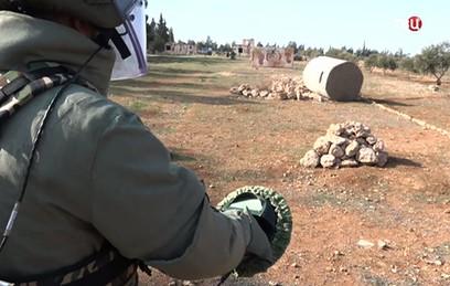 Российские военные подготовили еще одну группу сирийских саперов
