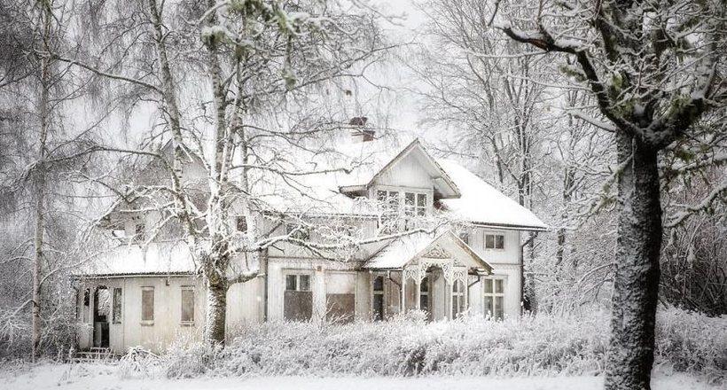 Сказочные заброшенные дома над полярным кругом в Норвегии