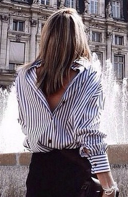 Новый тренд — рубашки надо носить задом наперед!