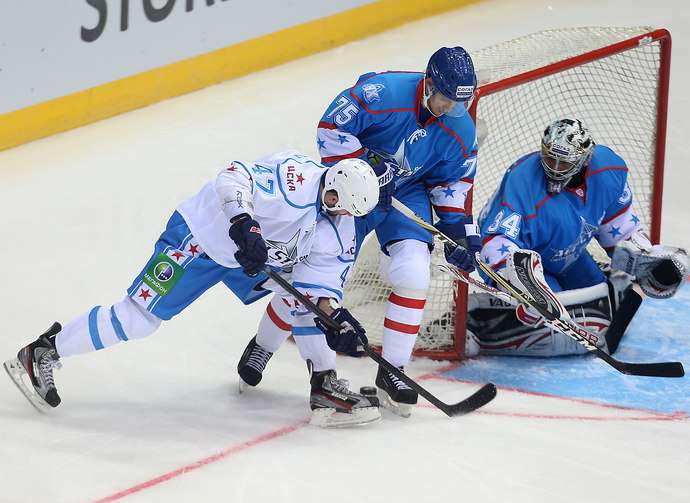Матч звезд КХЛ. Запад отдыхает (фото)