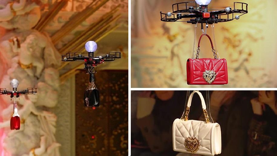 Дроны вместо моделей: невероятное начало показа Dolce & Gabbana 2018-2019