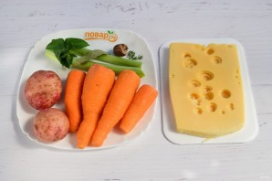 Суп-потаж морковный - фото шаг 1