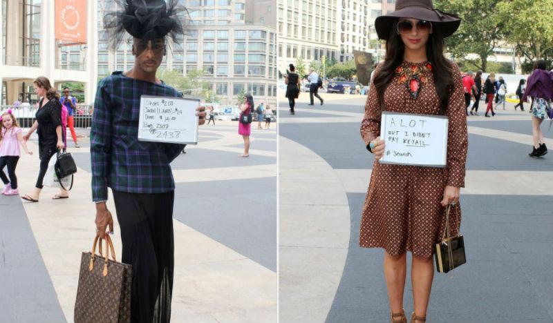 Люди на улицах Нью-Йорка признались, сколько стоит их одежда