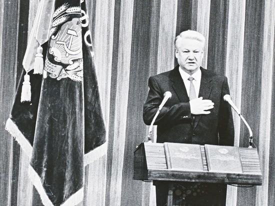 """""""Ельцин пытался сбежать"""": Ру…"""