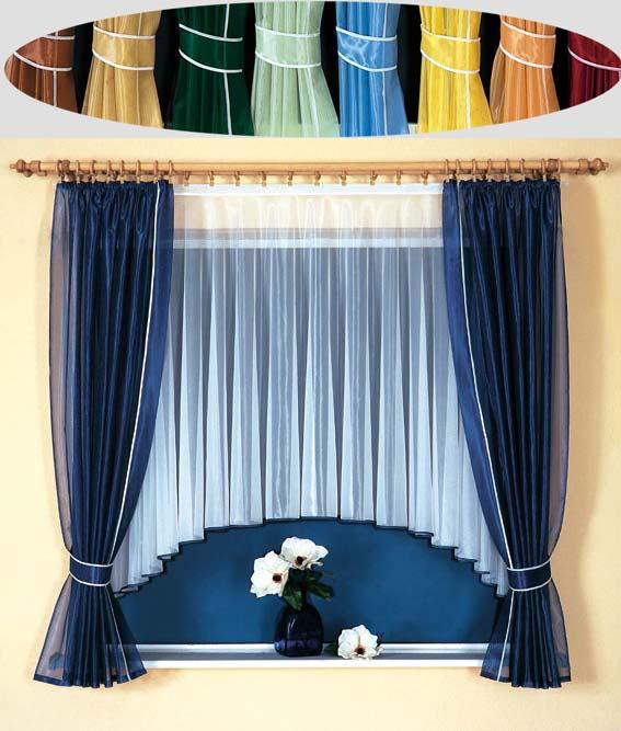 Дизайн коротких штор фото