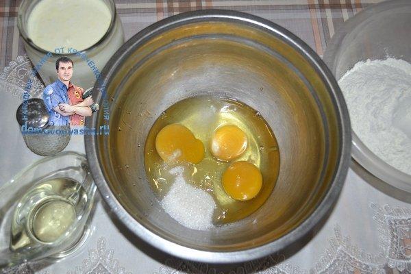 Идеальное тесто для блинов на молоке