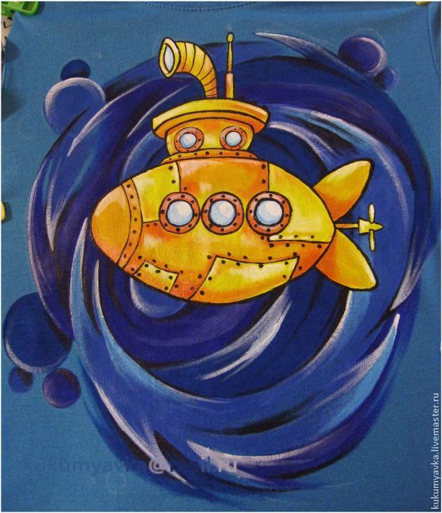 Желтая подводная лодка своими руками 94